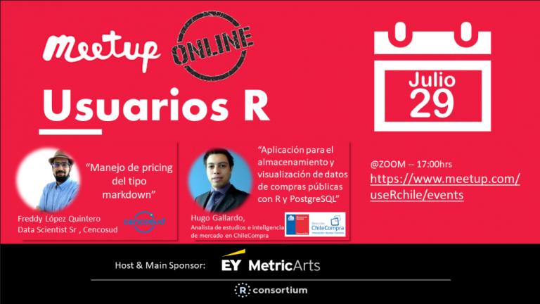 Meetup Julio 2020 por Zoom